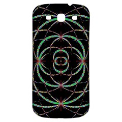 Abstract Spider Web Samsung Galaxy S3 S Iii Classic Hardshell Back Case