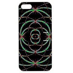 Abstract Spider Web Apple Iphone 5 Hardshell Case With Stand