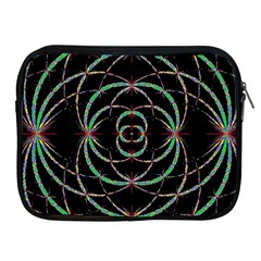 Abstract Spider Web Apple Ipad 2/3/4 Zipper Cases