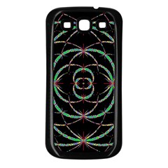 Abstract Spider Web Samsung Galaxy S3 Back Case (black)