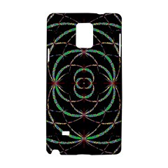 Abstract Spider Web Samsung Galaxy Note 4 Hardshell Case