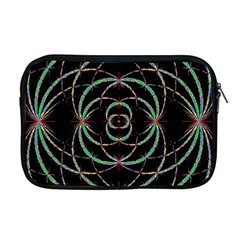 Abstract Spider Web Apple Macbook Pro 17  Zipper Case