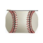 Baseball Cosmetic Bag (Large)  Front