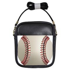 Baseball Girls Sling Bags