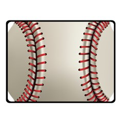 Baseball Fleece Blanket (small)