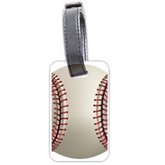 Baseball Luggage Tags (two Sides)