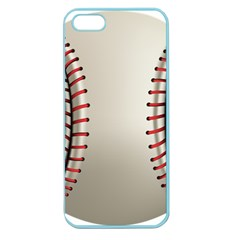 Baseball Apple Seamless Iphone 5 Case (color)