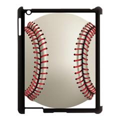 Baseball Apple Ipad 3/4 Case (black)