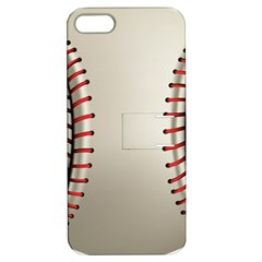 Baseball Apple Iphone 5 Hardshell Case With Stand