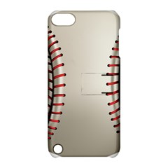 Baseball Apple Ipod Touch 5 Hardshell Case With Stand