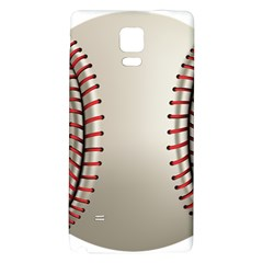 Baseball Galaxy Note 4 Back Case