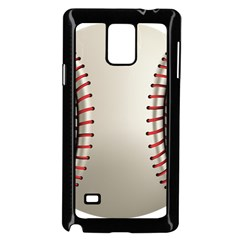 Baseball Samsung Galaxy Note 4 Case (black)