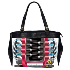 Car Engine Office Handbags (2 Sides)
