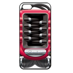 Car Engine Apple Iphone 5 Seamless Case (black)