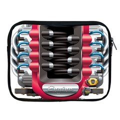 Car Engine Apple Ipad 2/3/4 Zipper Cases