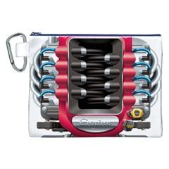 Car Engine Canvas Cosmetic Bag (xxl)