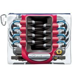 Car Engine Canvas Cosmetic Bag (xxxl)