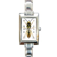 Wasp Rectangle Italian Charm Watch