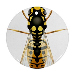 Wasp Ornament (round)