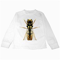 Wasp Kids Long Sleeve T Shirts