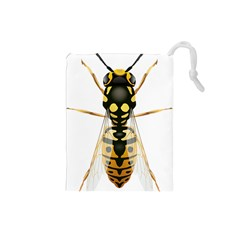 Wasp Drawstring Pouches (small)