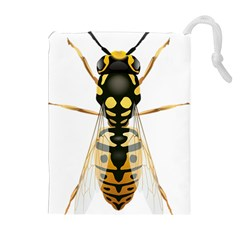 Wasp Drawstring Pouches (extra Large)
