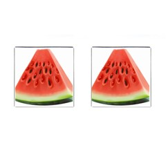 Piece Of Watermelon Cufflinks (square)