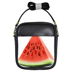 Piece Of Watermelon Girls Sling Bags