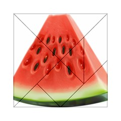 Piece Of Watermelon Acrylic Tangram Puzzle (6  X 6 )