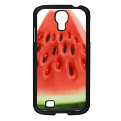 Piece Of Watermelon Samsung Galaxy S4 I9500/ I9505 Case (black)