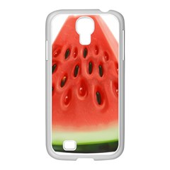 Piece Of Watermelon Samsung Galaxy S4 I9500/ I9505 Case (white)