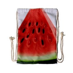 Piece Of Watermelon Drawstring Bag (small)