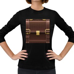 Brown Bag Women s Long Sleeve Dark T Shirts