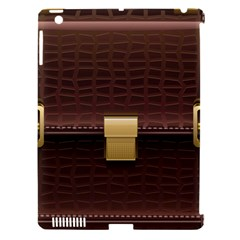 Brown Bag Apple Ipad 3/4 Hardshell Case (compatible With Smart Cover)