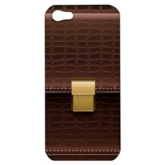 Brown Bag Apple Iphone 5 Hardshell Case