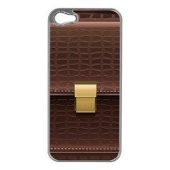 Brown Bag Apple Iphone 5 Case (silver)