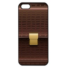 Brown Bag Apple Iphone 5 Seamless Case (black)
