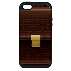 Brown Bag Apple Iphone 5 Hardshell Case (pc+silicone)