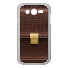 Brown Bag Samsung Galaxy Grand Duos I9082 Case (white)