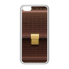 Brown Bag Apple Iphone 5c Seamless Case (white)