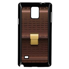 Brown Bag Samsung Galaxy Note 4 Case (black)