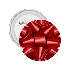 Red Bow 2 25  Buttons
