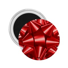Red Bow 2 25  Magnets