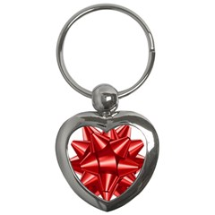 Red Bow Key Chains (heart)