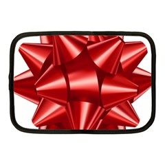 Red Bow Netbook Case (medium)