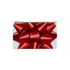 Red Bow Cosmetic Bag (small)