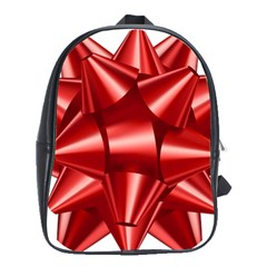 Red Bow School Bags(large)