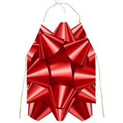 Red Bow Full Print Aprons