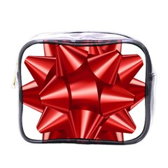 Red Bow Mini Toiletries Bags
