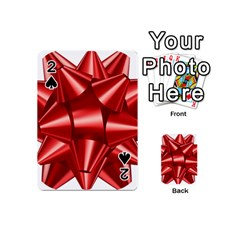 Red Bow Playing Cards 54 (mini)